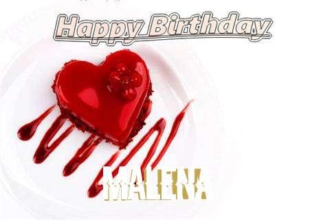 Happy Birthday Wishes for Malena