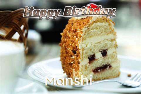 Happy Birthday Wishes for Manshi