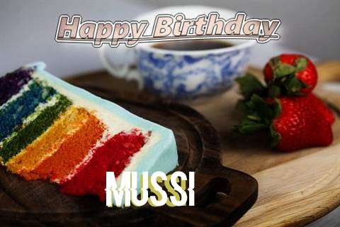 Happy Birthday Mussi