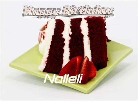Birthday Wishes with Images of Nalleli