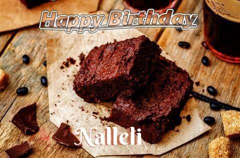 Happy Birthday Nalleli Cake Image