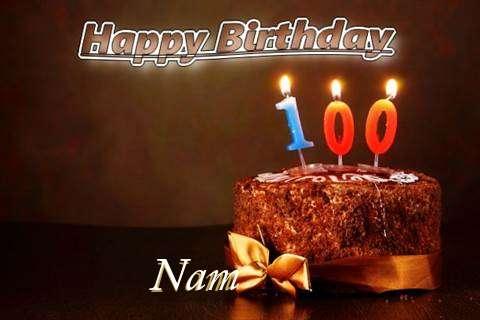 Nam Birthday Celebration