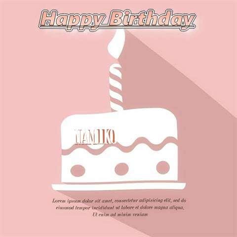 Happy Birthday Namiko