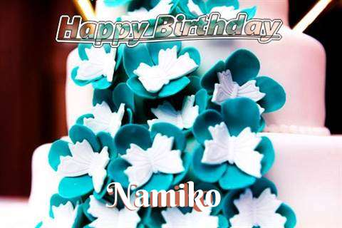 Birthday Wishes with Images of Namiko