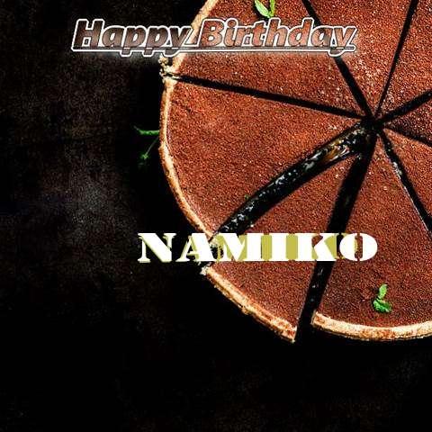 Birthday Images for Namiko