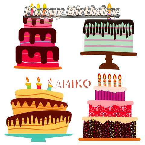 Happy Birthday Wishes for Namiko