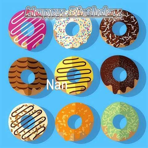 Happy Birthday Nan Cake Image