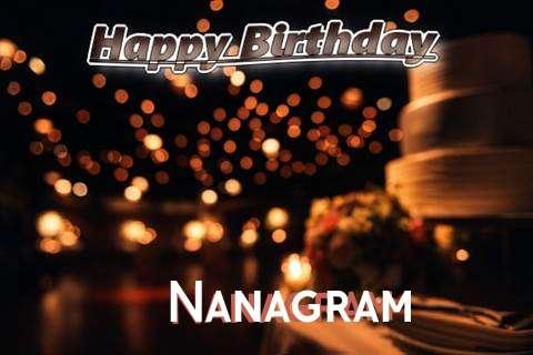 Nanagram Cakes