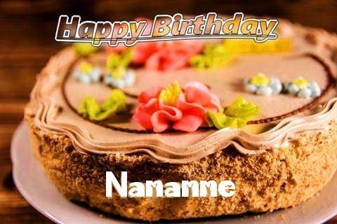 Happy Birthday Nananne