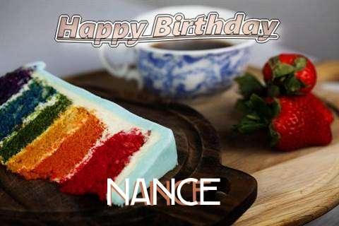 Happy Birthday Nance