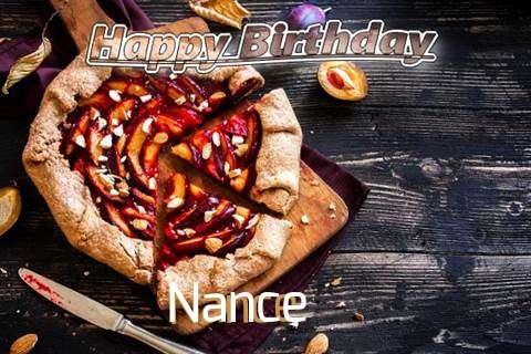 Happy Birthday Nance Cake Image
