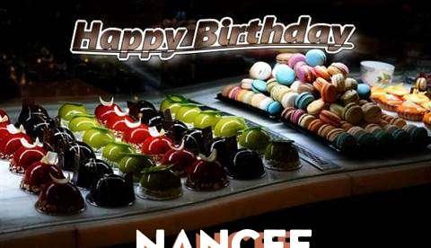 Happy Birthday Cake for Nancee