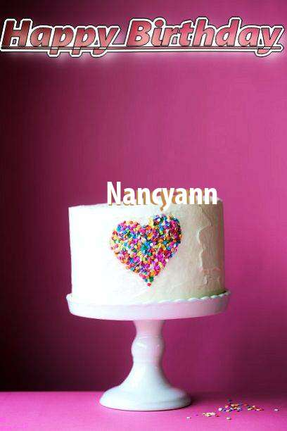 Birthday Wishes with Images of Nancyann