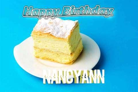 Happy Birthday Nancyann Cake Image