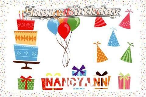 Happy Birthday Wishes for Nancyann