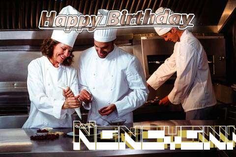 Happy Birthday Cake for Nancyann