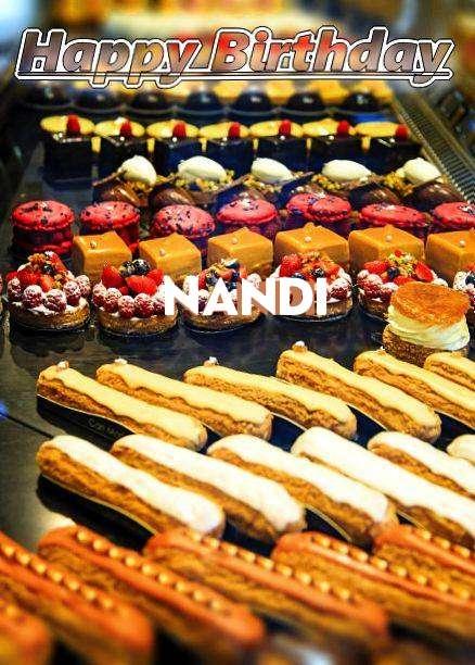 Happy Birthday Nandi