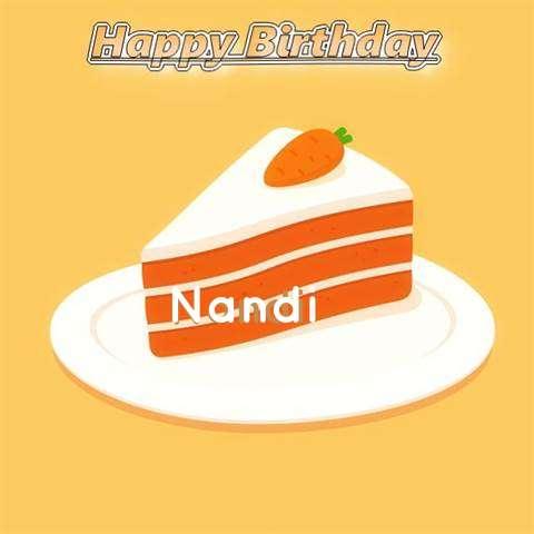 Birthday Images for Nandi
