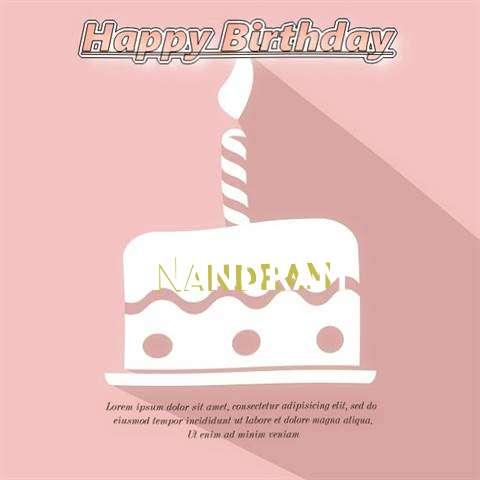 Happy Birthday Nandram
