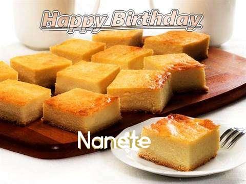 Happy Birthday to You Nanete
