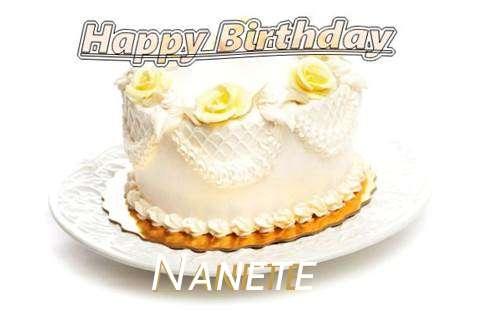 Happy Birthday Cake for Nanete