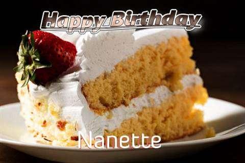 Happy Birthday Nanette