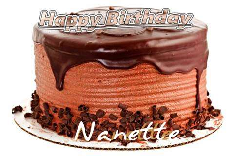 Happy Birthday Wishes for Nanette