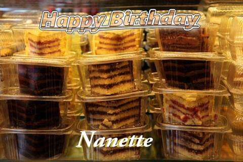 Happy Birthday to You Nanette