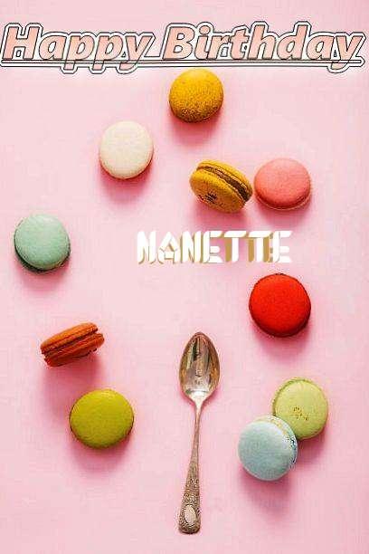 Happy Birthday Cake for Nanette