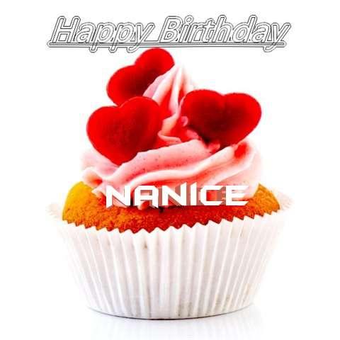 Happy Birthday Nanice