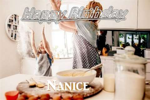 Birthday Wishes with Images of Nanice