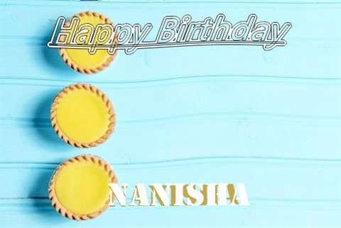 Birthday Wishes with Images of Nanisha
