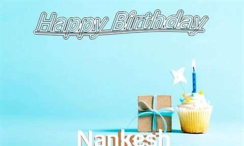 Happy Birthday Cake for Nankesh