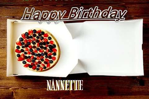 Happy Birthday Nannette
