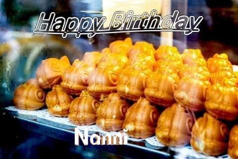 Birthday Wishes with Images of Nanni