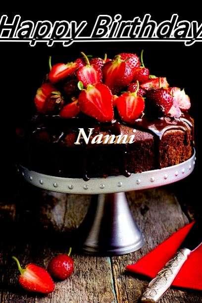 Happy Birthday to You Nanni
