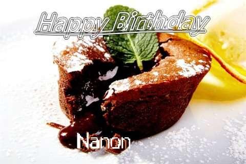 Happy Birthday Wishes for Nanon