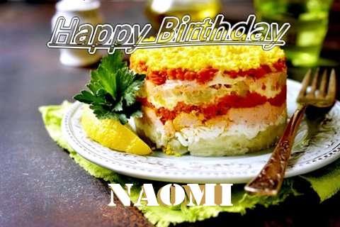 Happy Birthday to You Naomi
