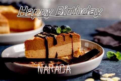 Happy Birthday Narada Cake Image