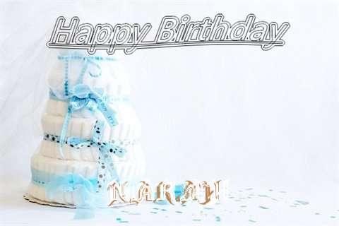 Happy Birthday Narah Cake Image