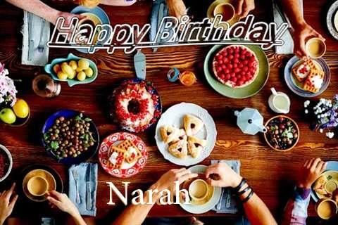 Happy Birthday to You Narah