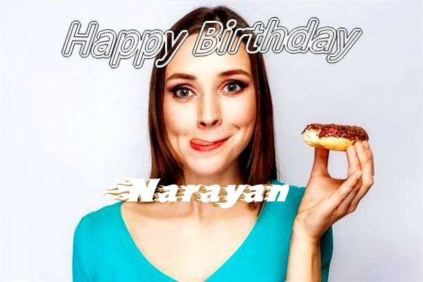 Happy Birthday Wishes for Narayan