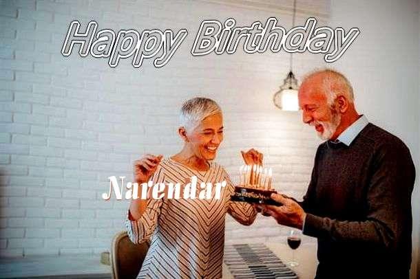 Happy Birthday Wishes for Narendar