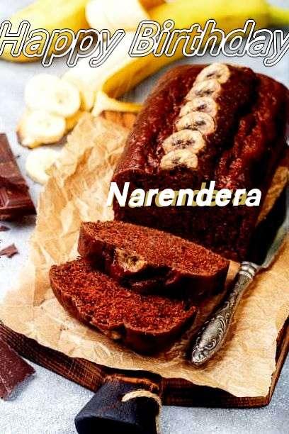 Happy Birthday Cake for Narendera