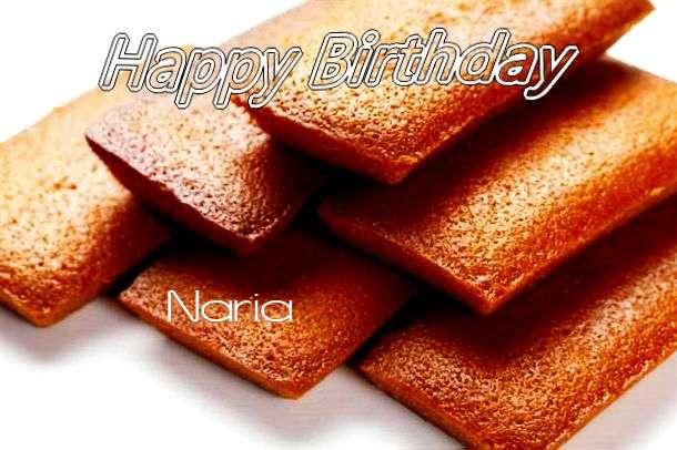 Happy Birthday to You Naria
