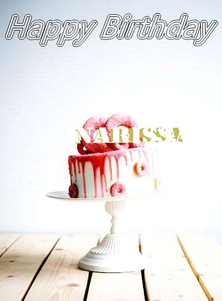 Happy Birthday Narissa