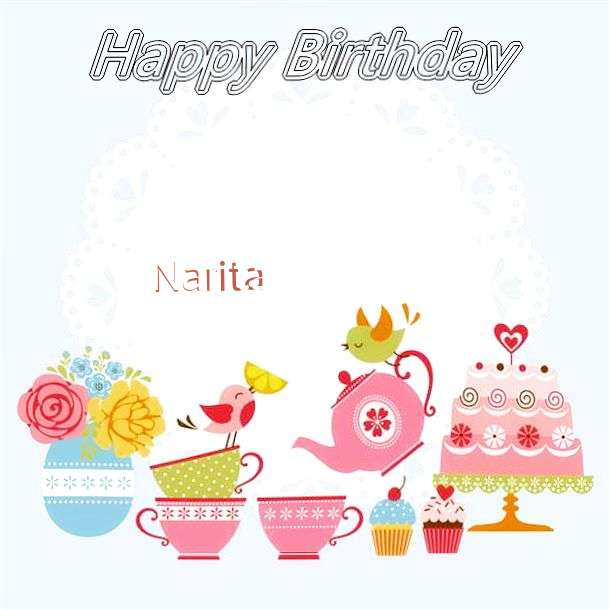 Happy Birthday Wishes for Narita