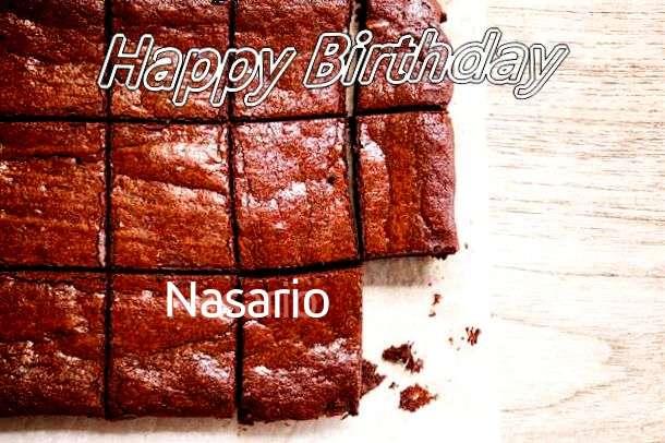 Happy Birthday Nasario
