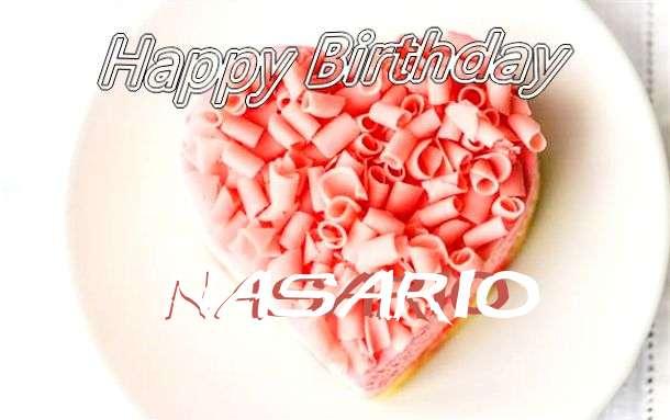 Happy Birthday Wishes for Nasario