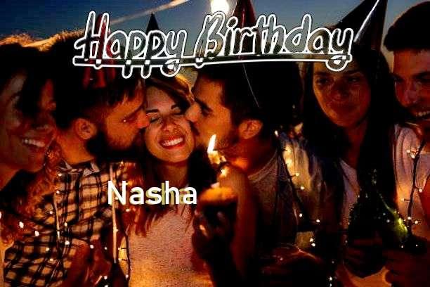 Birthday Wishes with Images of Nasha